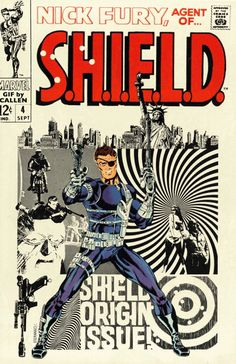 Nick Fury, Agent of S.H.I.E.L.D. Vol. 1 #4 | Community Post: 30 Animated Comic Book Covers That Are Downright Hypnotizing