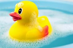 How to clean bath toys without using bleach. And the ultimate way to avoid a moldy rubber duck.