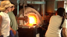 Experimental Glass Workshop | ... the furnaces fired up at the new mexico experimental glass workshop