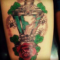 Lantern tattoo adriel tattoo