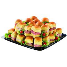 Mini Sandwich Meat Platter