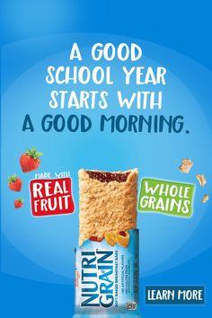 Kids Cereal, Cereal Bars, Horlicks, Strawberry Breakfast, No Bake Bars, Ads Creative, Breakfast Bars, Energy Bars, Homemade Beauty Products