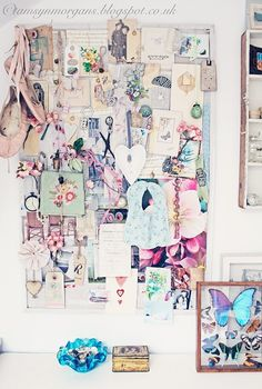 Shabby Chic Inspiration Board