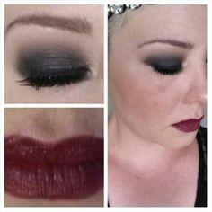 Fun #1920 #inspired #makeup Mama's Crazy Happy Life http://mamascrazyhappylife.blogspot.com/