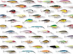 Fishing lures...use these to catch walleye