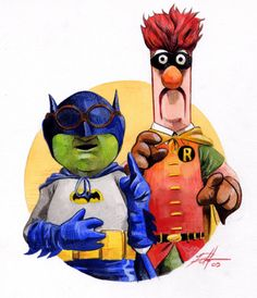 Batman Muppets- so much better than the original