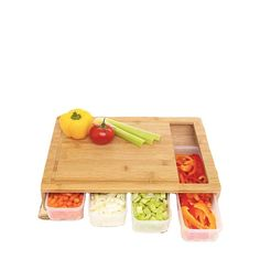Bamboo Cutting Chopping Board With 4 Sliding Drawer Trays Container And Lid Set - Buy Bamboo Cutting Chopping Board Product on Alibaba.com Buy Bamboo, Free Mom, Bamboo Cutting Board, Trays, Drawer, Container, Woodworking Plans, Drawers, Chest Of Drawers
