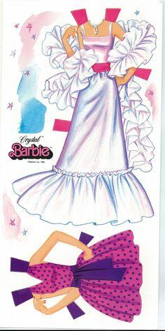 (⑅ ॣ•͈ᴗ•͈ ॣ)♡                                                      Miss Missy Paper Dolls: Barbie