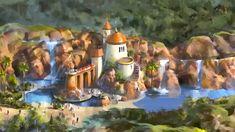 New Fantasyland Concept Art @ WDW - Little Mermaid [Prince Eric's Castle]