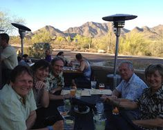 Photos by Lisa E White Food tastes better when dining al fresco. At the Twisted Lizard on McDowell Mt. Ranch Road and 105th St., the pa...