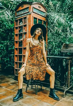 Rawr! 🐯 Animal print is simply never out of style.  Bring the outdoors indoors in this effortlessly simple cami dress from Bamboo Blonde, Bali's favourite for the latest trends.  Find your inner feline at www.blackbookfashion.com. Link in bio.  Dress: Idi Dress  #chillvibes #shopboutiques #findyourstyle #shopnewarrivals #whatshewore #fashionfinder #howtowear #loungewear #fashioninspo #animalprint #outfitshare #dailyoutfit #stylegoals #fashionportrait #bohoboutique #boholook #instafashion… Bamboo Blonde, Boho Boutique, Bali Fashion, Style Finder, Boho Look, Out Of Style, Loungewear, Cowl Neck, Cami