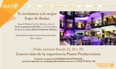 Conoce más de la experiencia Punto Producciones  #Expo #Boda #Coctel #PuntoProducciones #Wedding