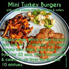 Mini Turkey Burgers - step 3 Cambridge Diet Step 2, Cambridge Weight Plan, Mini Burgers, Turkey Burgers, Healthy Foods, Healthy Eating, Healthy Recipes, Turkey Mince, Meal Ideas