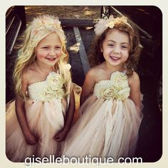 Flower Girl TuTu Dress.Ivory Vintage Lace with by giselleboutique, $115.00