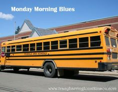How can children be motivated to be more happy in the morning? To be organized and ready for the Monday morning?