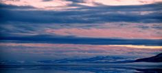 Utah Lake Sunset February 9 2014