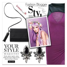 """""""Magazine Look"""" by lucky-1990 ❤ liked on Polyvore featuring Pussycat"""