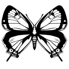 Butterfly Clip Art Black And White - ClipArt Best