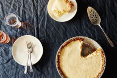 A Thanksgiving Pie to Freeze Instead of Bake on Food52.  Pumpkin ice cream pie with gingernsap crust.