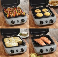 Countertop appliance cooks it all  The Cuisinart CBO-1000 Oven Central is capable of cooking up a variety of meals. Featuring the ability to steam, saute, roast, broil, bake, and toast, the appliance is an all-in-one solution for the kitchen.