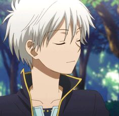 GIF of Zen Wistaria - the main male protagonist.