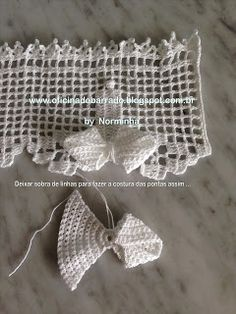 83. Crochet Lace Edging Trim