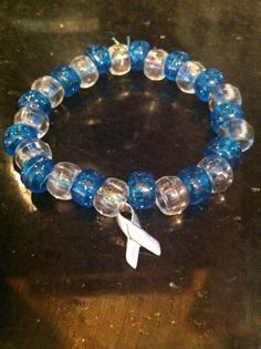 Juvenile Diabetes Awareness Bracelet by sheilapatis on Etsy, $5.00