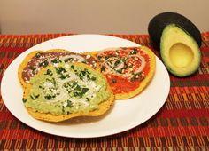 Traditional Guatemalan Tostadas Recipe using Avocados from Mexico