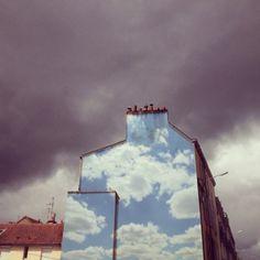Benjamin Løzninger – Cloud Project New Murals @ France