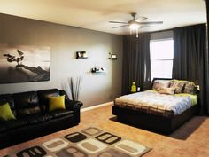 Top 10 Coolest Room Design Ideas for Guys ...   - Designing a room for a teenager boy or young man will be an easy job and not hard mission if you know what his hobbies and interests are, what he like... -   -  #bedrooms #teenagers #teenagers'bedrooms #po