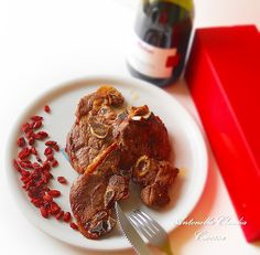 Le Torte di Antonella Cacossa e non solo...: Cotolette di agnello grigliate con bacche di goji