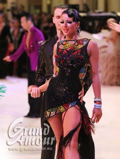 Exclusive designer dresses for Latin dancers - Grand Amour