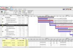Projektmanagement Tools: ProjectLibre – Ist-Aufwand eingeben