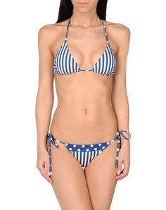 DOLCE & GABBANA BEACHWEAR Women's Bikini Blue 2 US