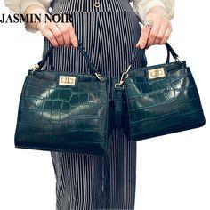 e9da94648f12 crossbody bags for women New women Messenger bag crocodile PU leather mini  cat shoulder bag handbag