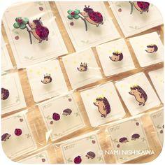 【お知らせ】#広島 の皆さ〜ん!3/17(金)〜4/13(木)東急ハンズ広島で『HARI WOOD』始まります!#ハリネズミ や #うさぎ の #雑貨 が集まります。#なみはりねずみ も参加しますので、遊びに来てくださいね!