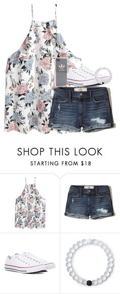 """""""Untitled #2628"""" by laurenatria11 ❤ liked on Polyvore featuring Hollister Co., Converse, Lokai and adidas"""