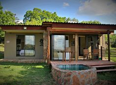 Mamagalie Lodges is established on a private farm consisting of 1000 acres of Magaliesburg mountainous area. Less than 100 km from Johannesburg and Pretoria, overlooking the Buffelspoort Dam. It is conveniently located for a weekend getaway or a quiet mid-week break. Wood can be purchased on site if required. There are extensive walks around the farm, the most popular being to the rock pools in the mountain stream. Rock Pools, Pretoria, Weekend Getaways, Lodges, Walks, Acre, Gazebo, Places To Visit, Mountain