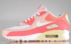 Nike Air Max 90 - Hot Punch / Storm Pink - Beach