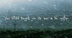 -Oh Ms Believer by Twenty One Pilots PRETTY MUCH MY FAVORITE SONG IN WINTER <3