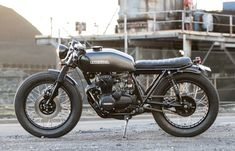 Salty Speed Co CB400 Cafe Racer on The Bike Shed