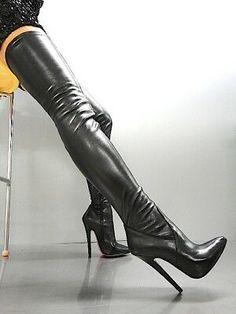 Shoes Boots Ankle, Stiletto Boots, Thigh High Boots, High Heel Boots, Over The Knee Boots, Heeled Boots, Women's Shoes, Beige Boots, High Leather Boots