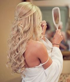 Prom hair ideas for a strapless dress.                                                                                                                                                      More