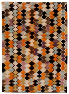 Rug by Loom - I see glass mosaic when I look at this.