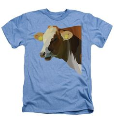 Hilarious Cow - Heathers T-Shirt