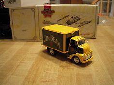 Matchbox 1948 GMC Chevy COE Jim Beam Truck Toy Whiskey Truck Toy Train Layout