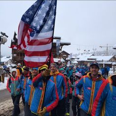 So proud of our athlete and friend, @teagueholmes He is in Verbier Switzerland representing the USA with other friends @andydorais @tomgoth @jasondorais at the Ski Mountaineering World Championships this weekend. Good luck team USA.
