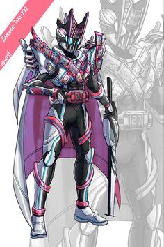 Kamen Rider Decade, Kamen Rider Series, Gundam Art, Funny Comics, Ranger, Character Art, Superhero, Anime, Pictures