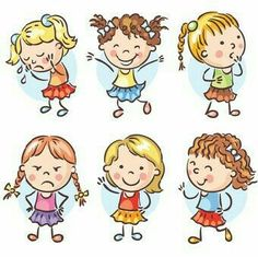 Drawing Cartoon Characters, Cartoon Drawings, Easy Drawings, Clipart, Drawing For Kids, Art For Kids, Stick Figure Drawing, Rock Painting Designs, Happy Kids