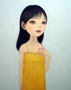 me like big eyes illustration